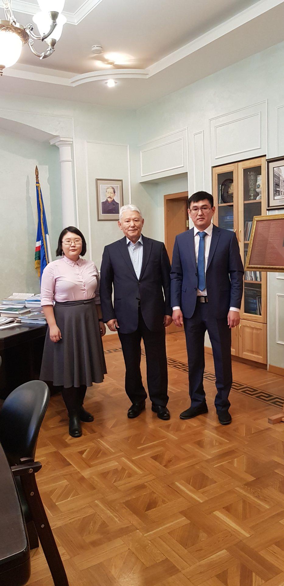 Михаил Николаев в Москве встретился с лидерами Молодой Гвардии