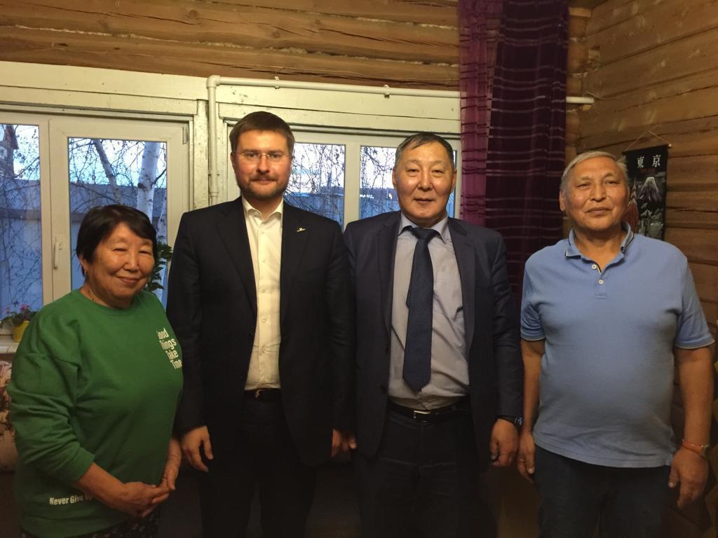 Сергей Иванов в Верхневилюйске
