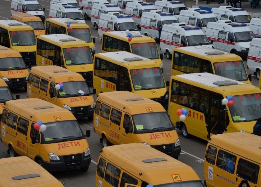 В Якутию поступят 51 школьный автобус и 9 автомобилей скорой помощи