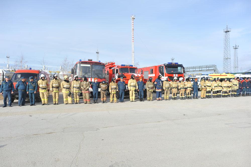 Сахатранснефтегаз принял участие в тренировках по гражданской обороне