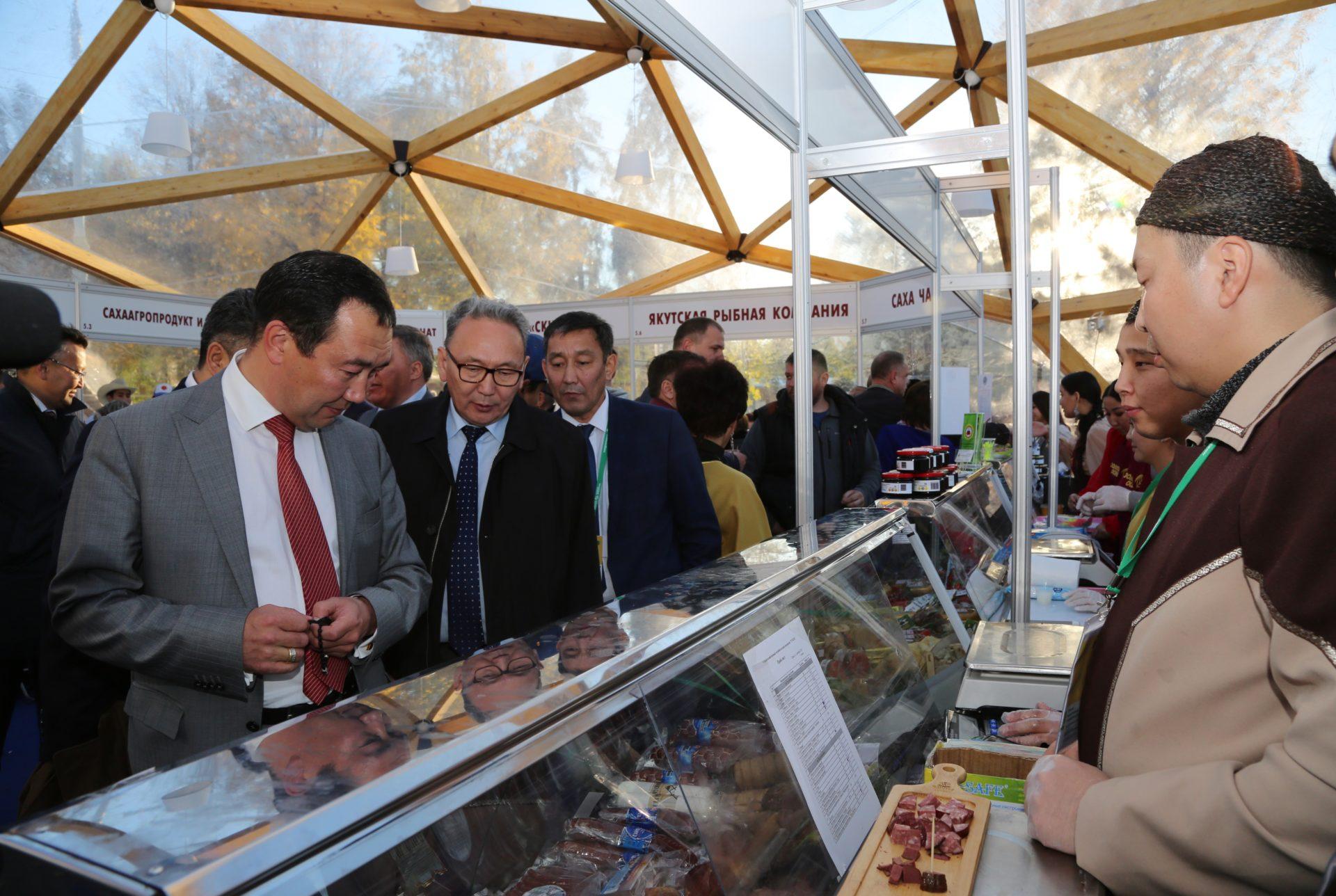 Якутия выиграла Гран-при за вклад в развитие агропромышленной выставки «Золотая осень» в Москве