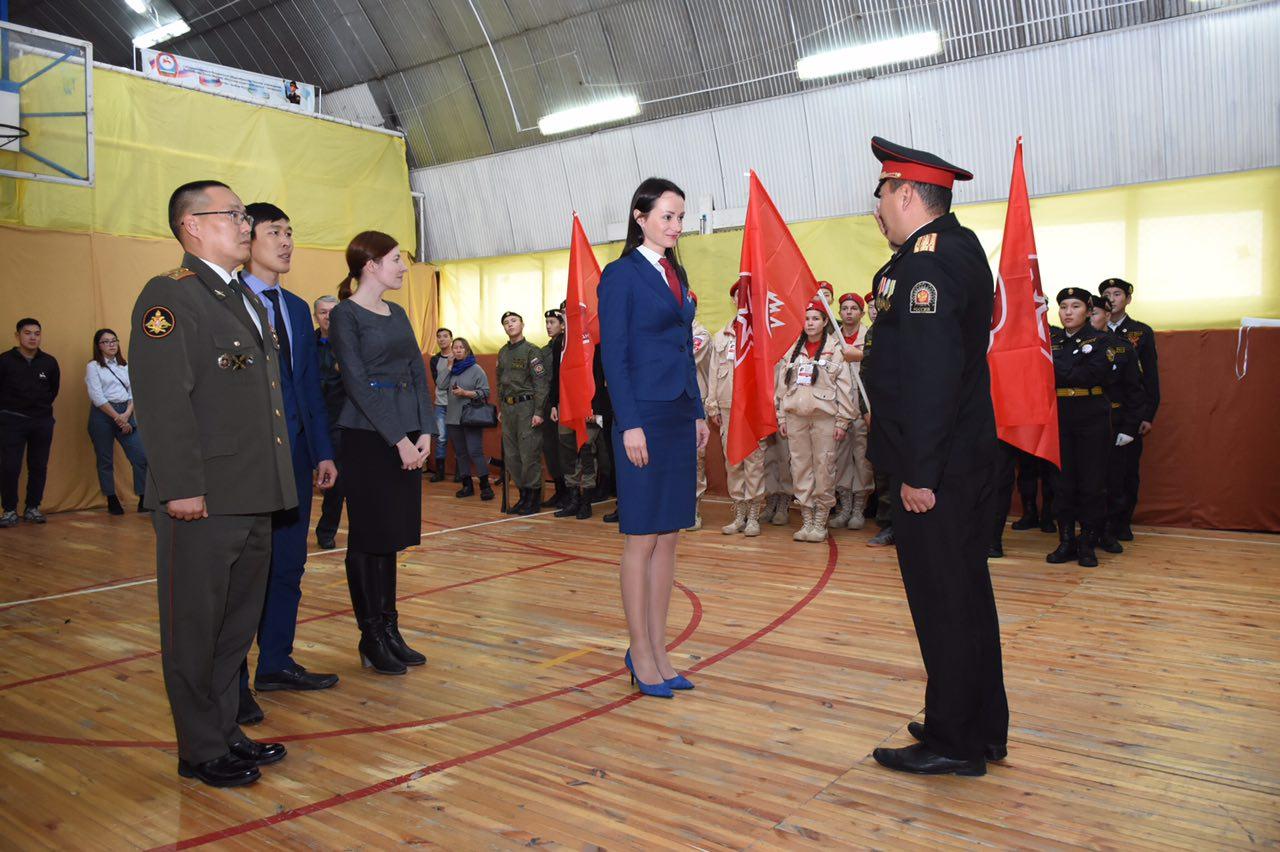 В Якутии стартовал V республиканский  патриотический слет Юнармии