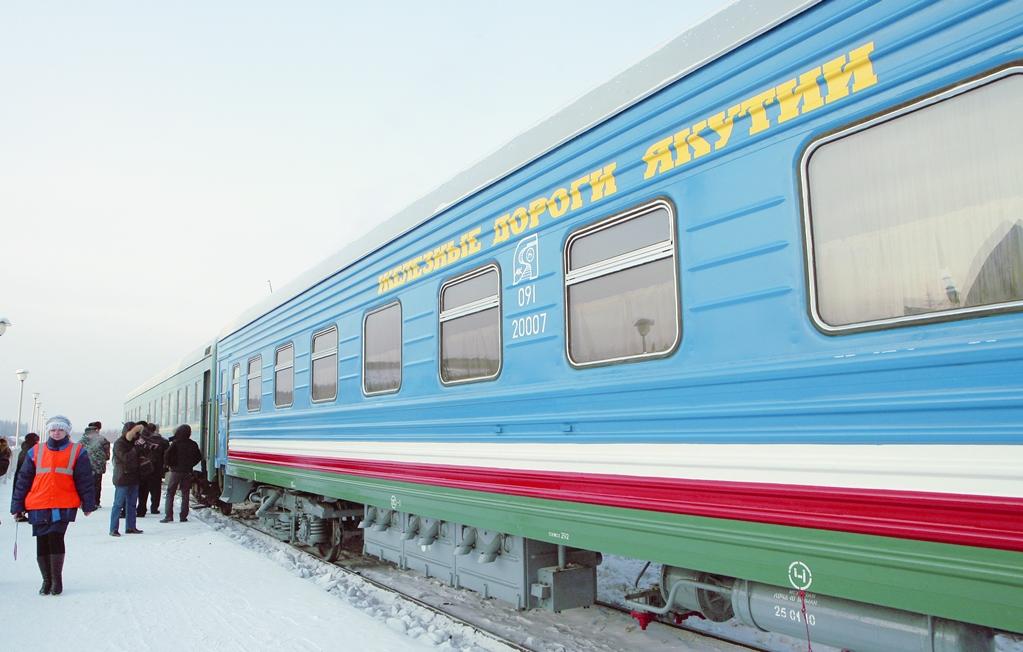 «Железные дороги Якутии» пополняют парк пассажирских вагонов