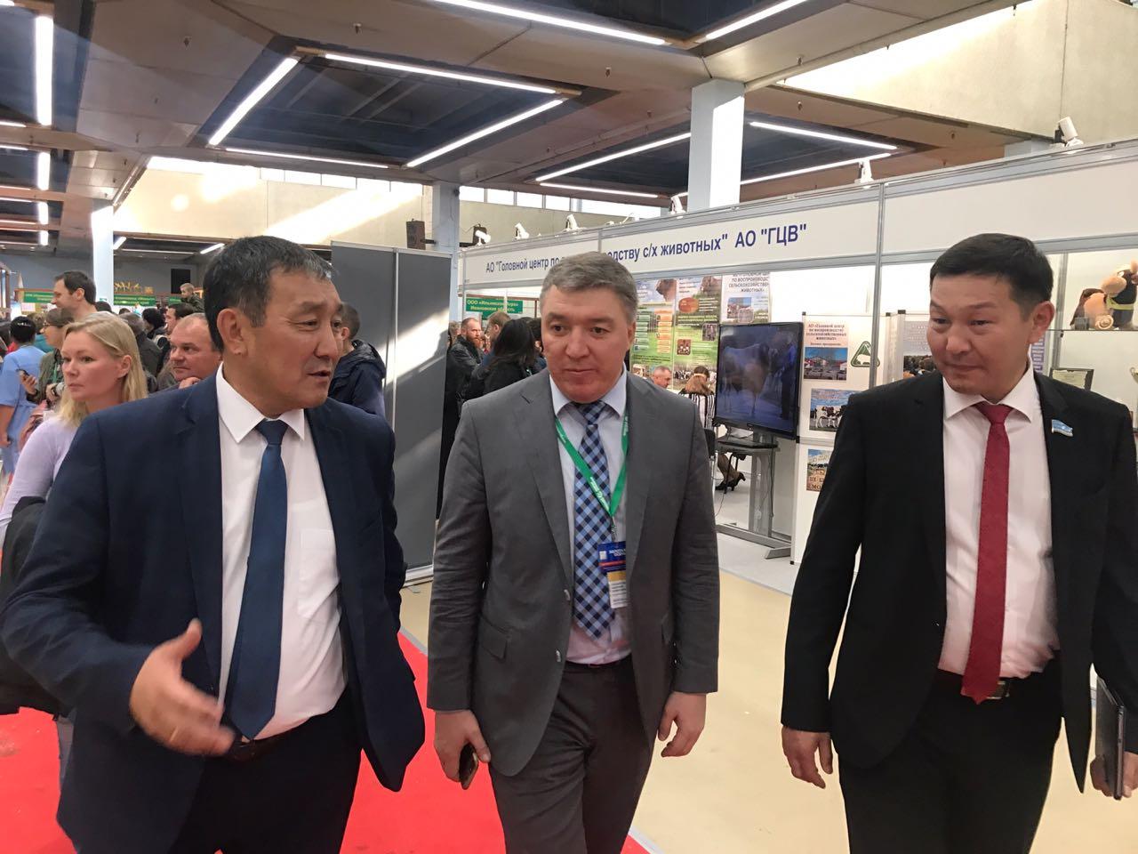 Делегация Якутииежегодно принимаетучастие в главной агропромышленной выставке страны