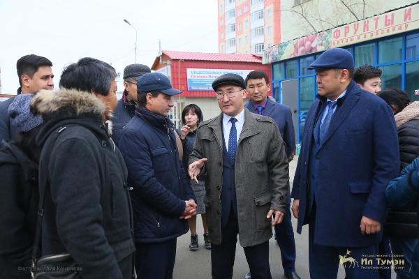 Петр Гоголев провел объезд в Университетском избирательном округе