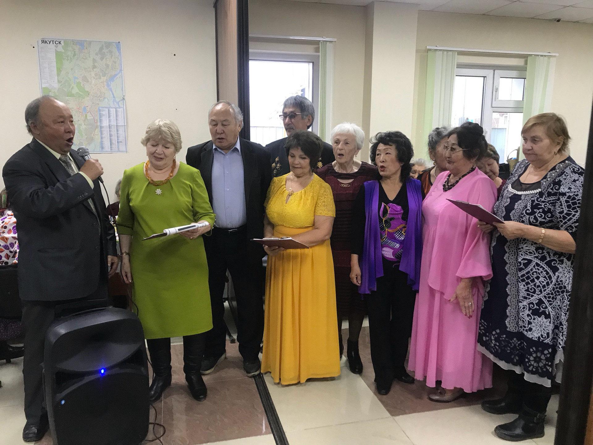 В Сайсарском округе завершилась декада пожилого человека