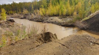 Возбуждено уголовное дело по факту загрязнения реки Ирелях