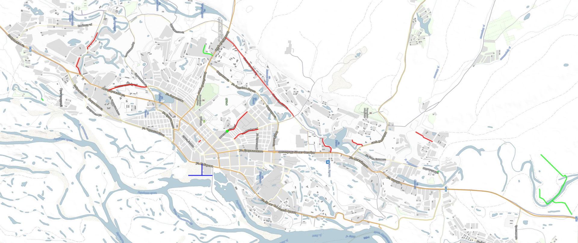 В 2019 году в Якутске отремонтируют 23 километра дорог и построят три мостовых перехода