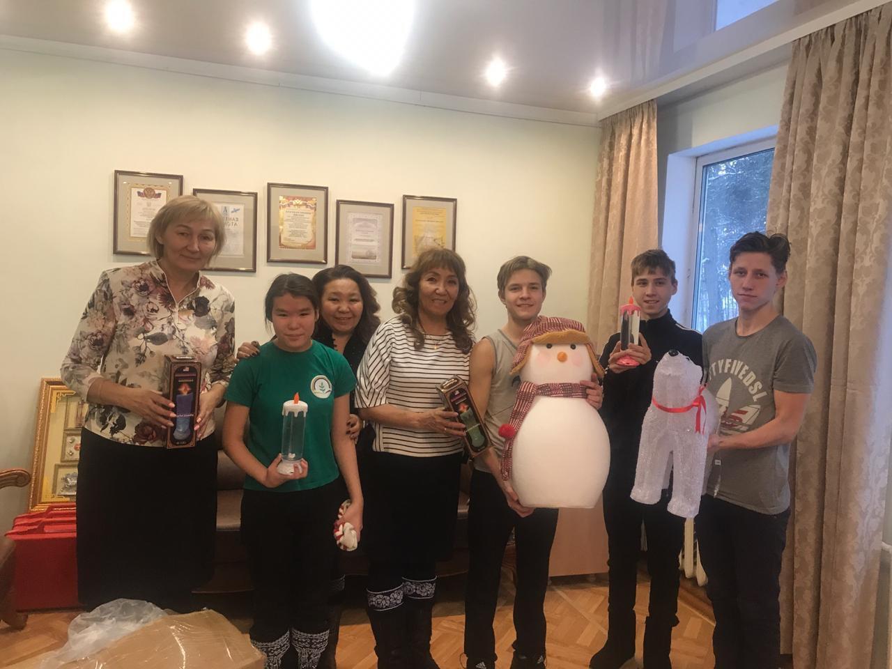 Сайсарский округ передал эстафету добра Октябрьскому округу