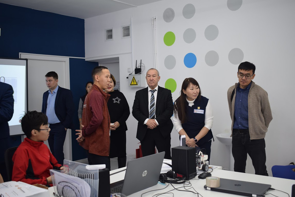 Встреча с делегацией из Казахстана