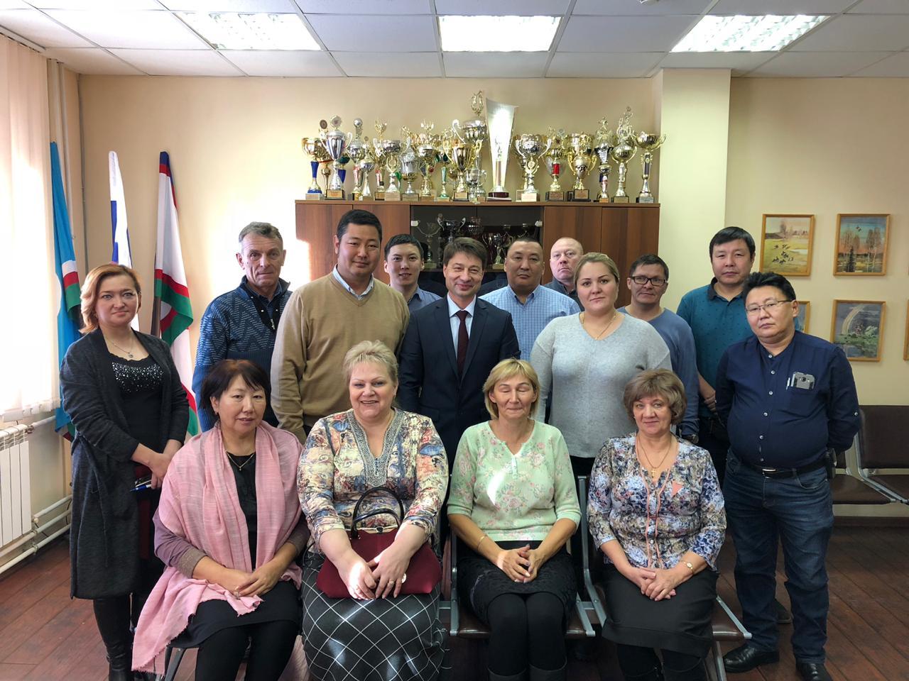 Первый заместитель главы города посетил Сайсарский округ