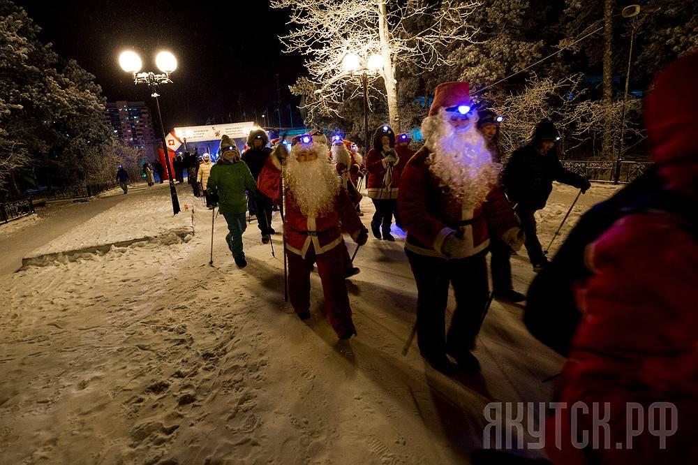 Якутские любители скандинавской ходьбы откроют зимний сезон