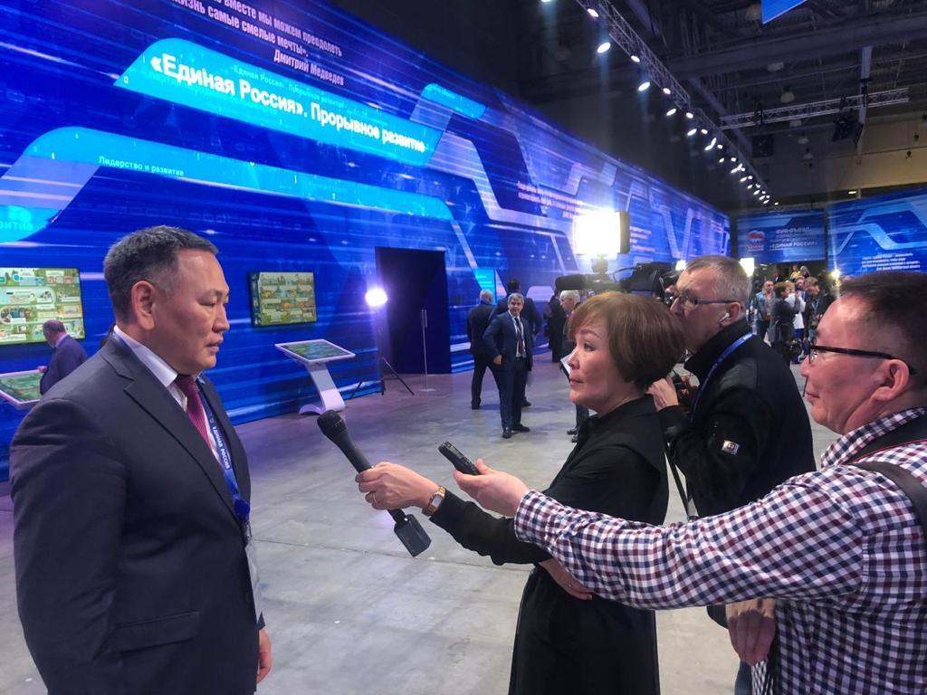 Сахамин Афанасьев: На съезде «Единой России» будут скорректированы цели и задачи партии