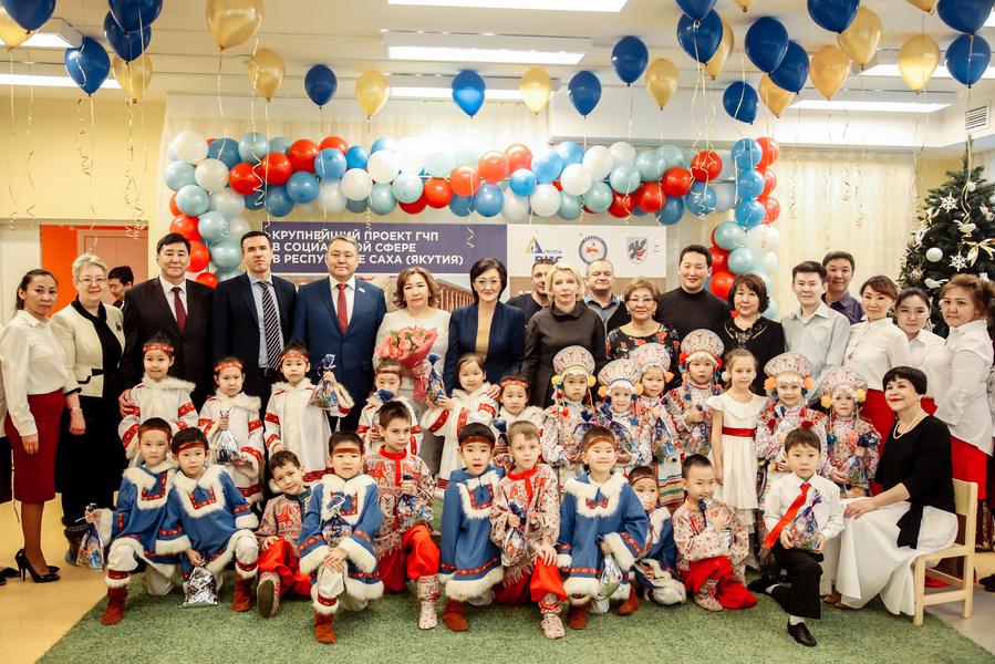 В 203 микрорайоне Якутска распахнул двери новый детский сад