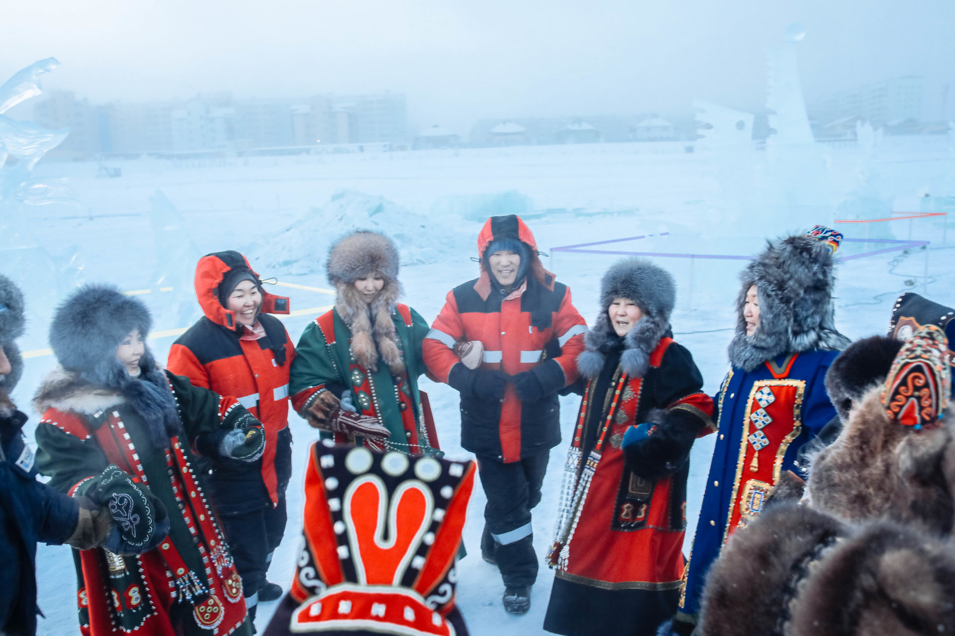 В Якутске подвели итоги VII Международного конкурса снежных и ледовых скульптур «Бриллианты Якутии»
