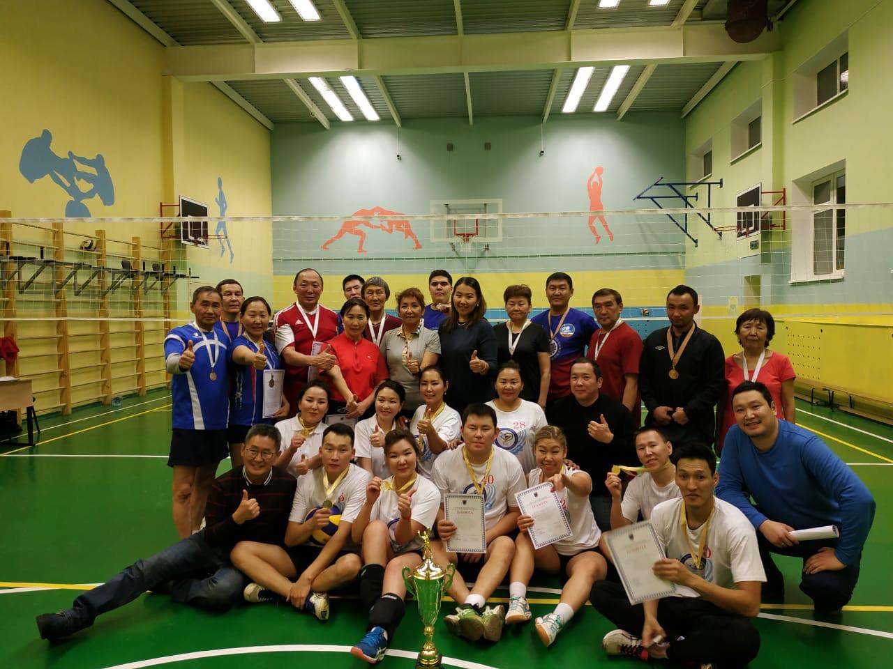 В Сайсарском округе прошли окружные соревнования по волейболу