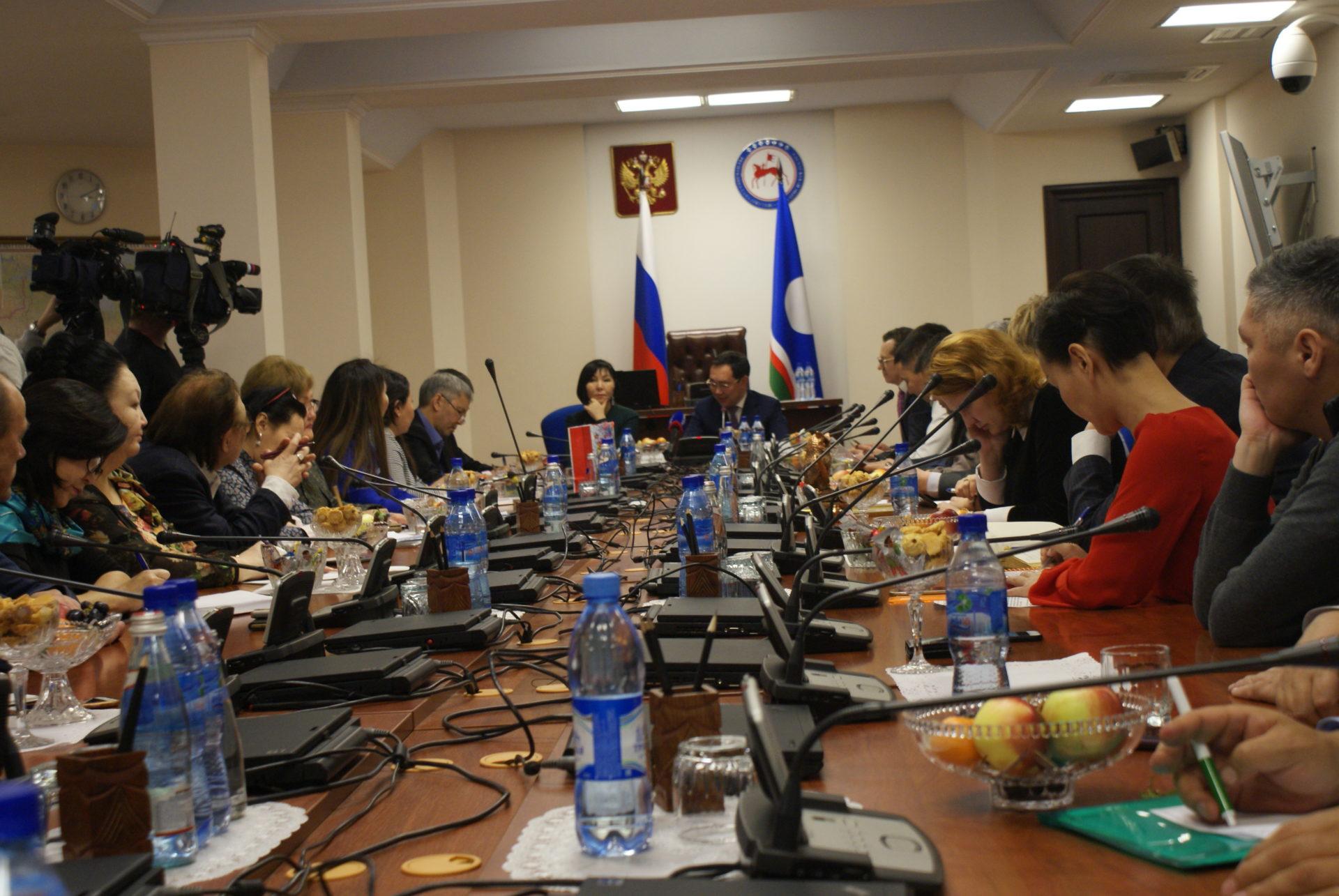 Айсен Николаев подвел итоги уходящего года