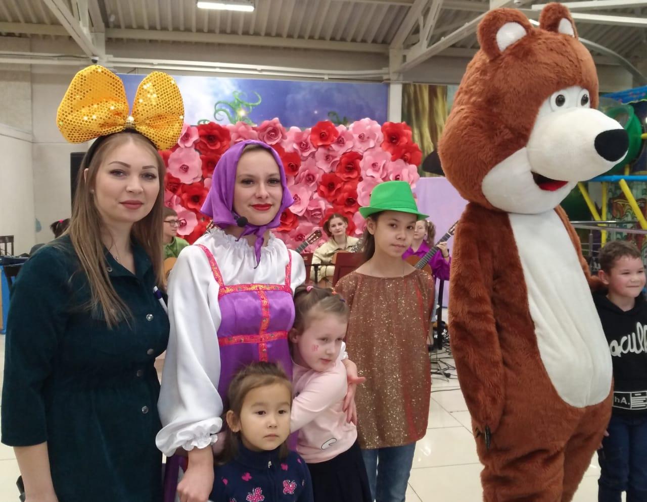 Благотворительная акция в ТРК «Чудо-парк»