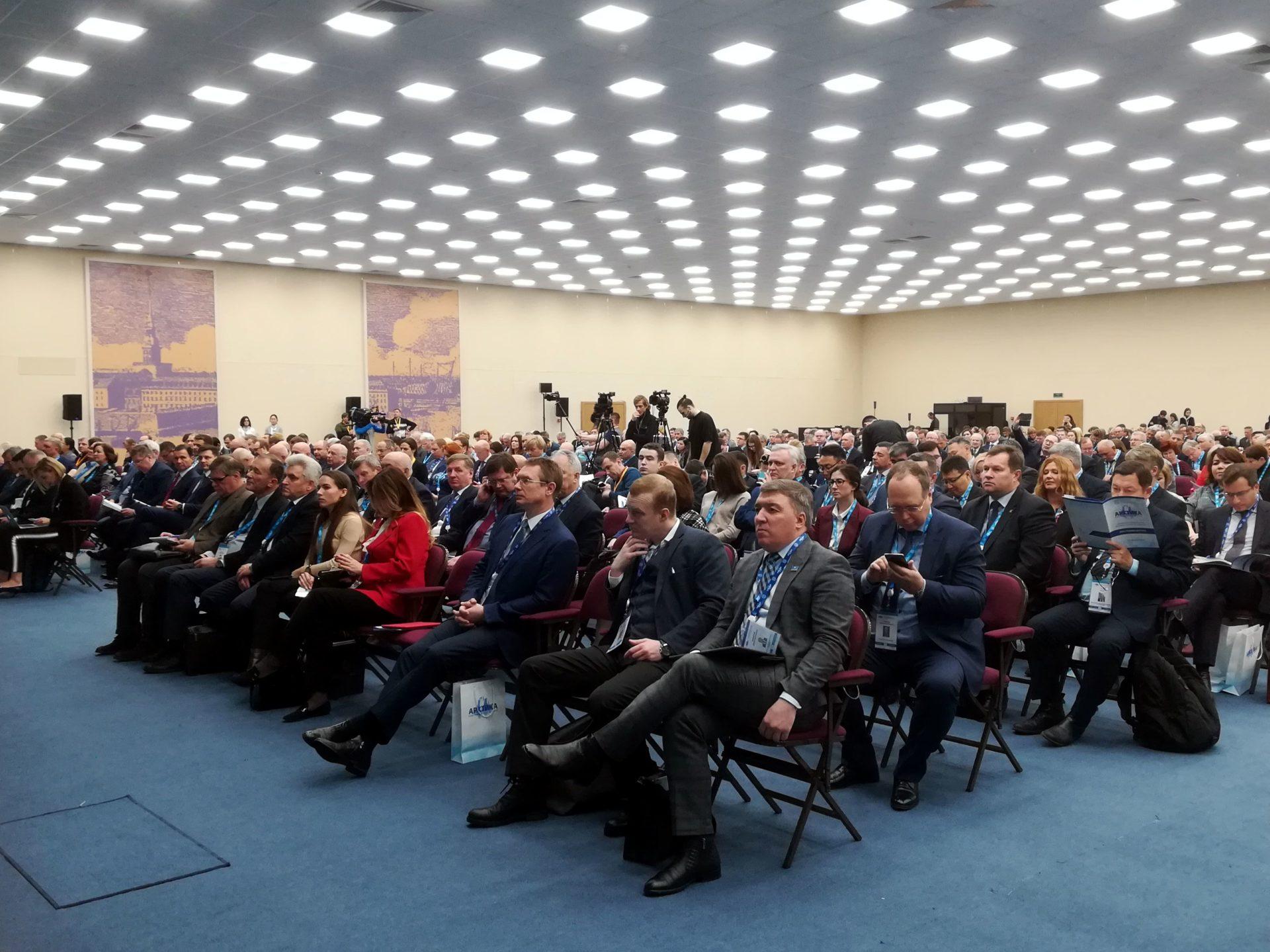 Делегация Якутии принимает участие в Международном форуме «Арктика: настоящее и будущее»