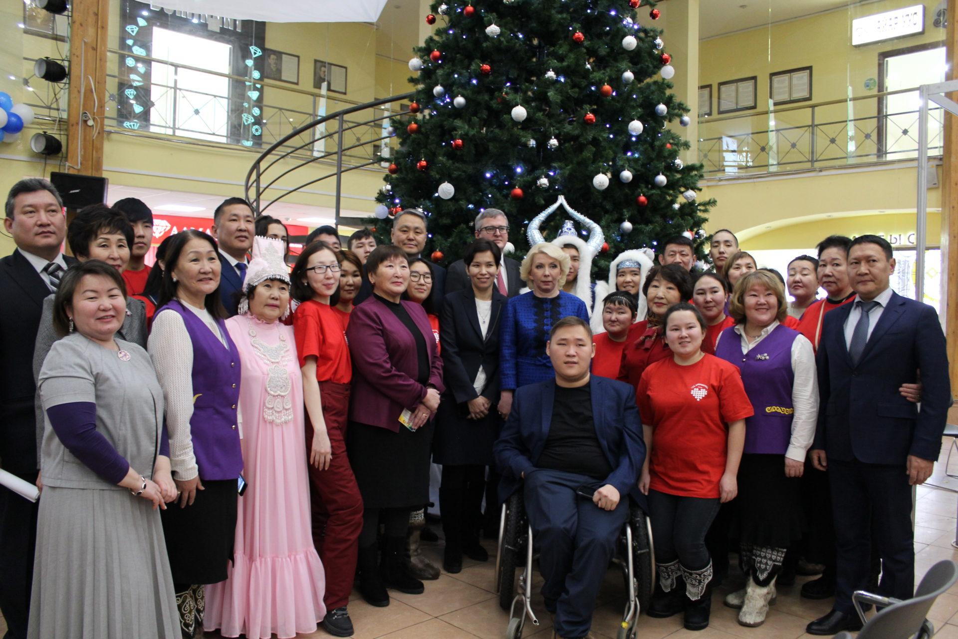 В Якутске состоялось открытие выставки «Якутск – город равных возможностей»