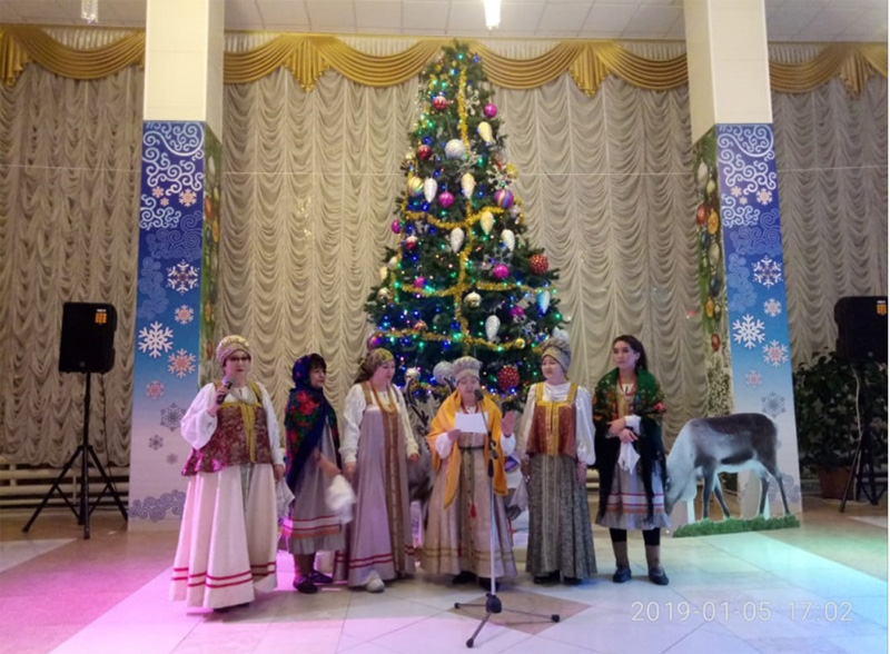 Новогодний праздник русских арктических старожилов «Машкараты»