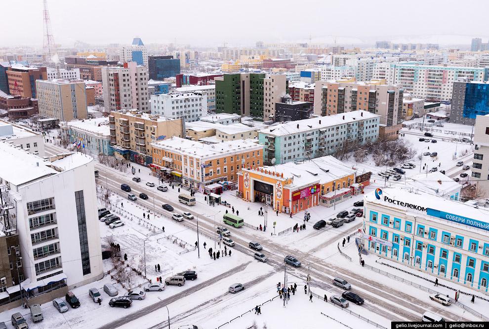 Якутск перенес новогодние каникулы относительно спокойно