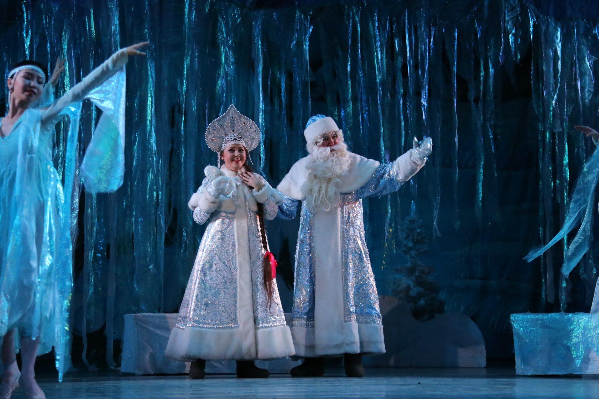 Театр оперы и балета представил детские спектакли