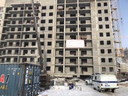 В городе Якутске устанавливаются обстоятельства гибели рабочего, занятого на строительстве жилого дома