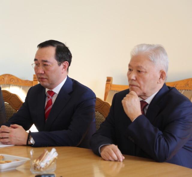 Глава Якутии встретился с президентом Российской академии наук