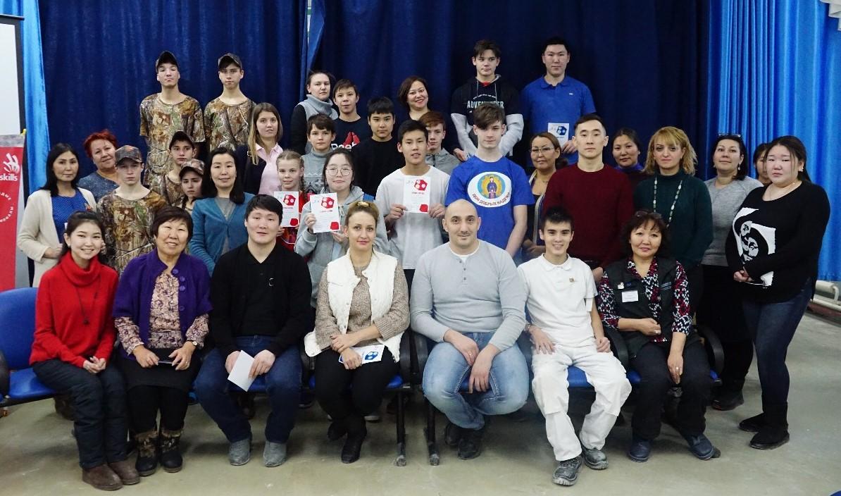 В Якутске прошел муниципальный этап всероссийского чемпионата «World Skills Junior – Yakutsk-2019»