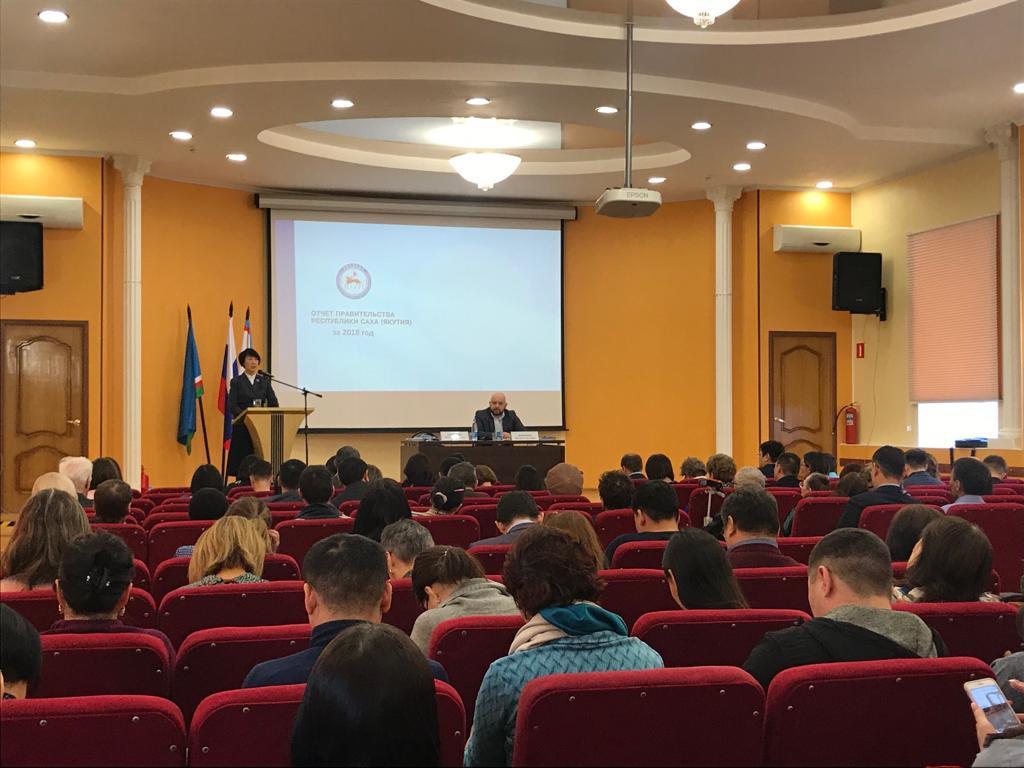 Отчет правительства Якутии за 2018 год принят жителями Губинского и Промышленного округов