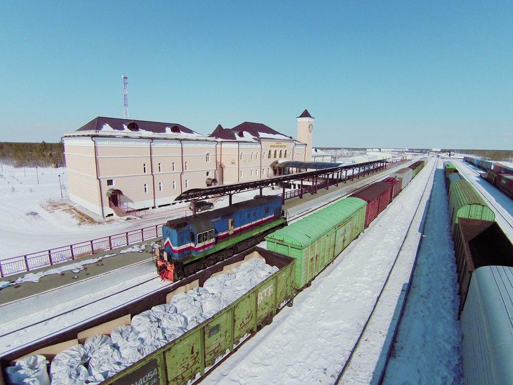 За два месяца 2019 года компания «Железные дороги Якутии  перевезла 1 млн тонн грузов