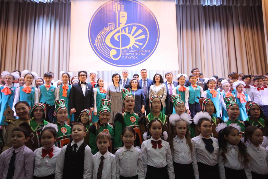 В Якутске открылась Детская школа искусств и библиотека
