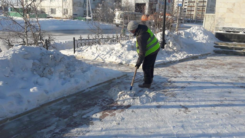 Управа Сайсарского округа выдает талоны на выгрузку снега в специализированном полигоне АО «ЯкутДорСтрой»