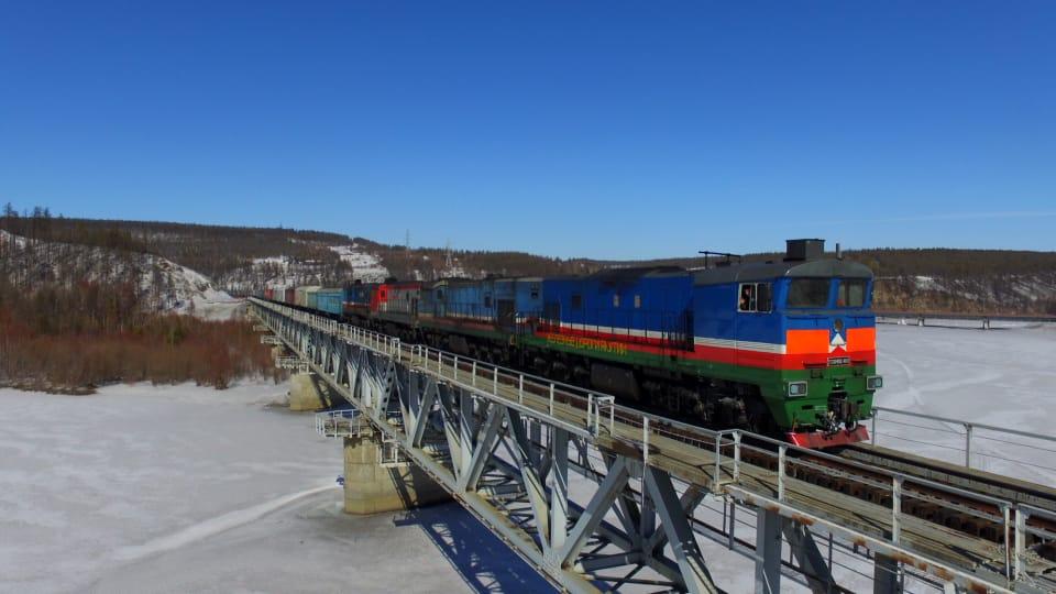 За три месяца 2019 года компания «Железные дороги Якутии перевезла около 1,6 млн тонн грузов