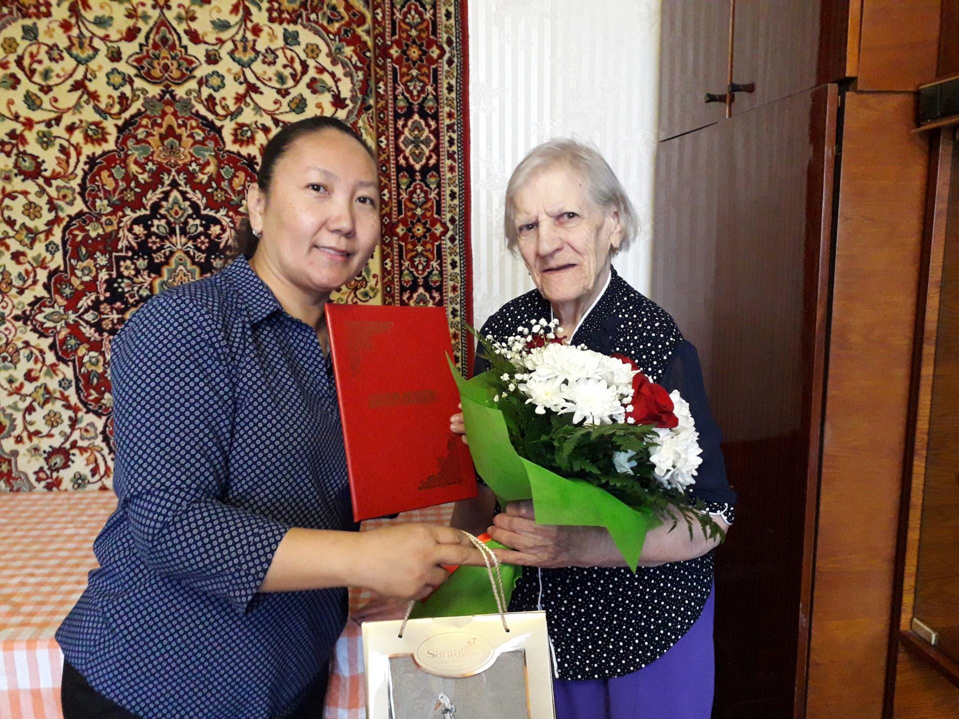 В Губинском округе ветеранам ВОВ исполнилось 90 лет