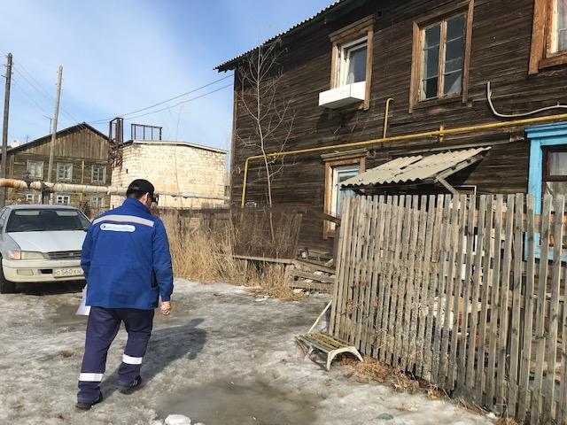 В Якутске будут ограничены в подаче газа 5 аварийных домов