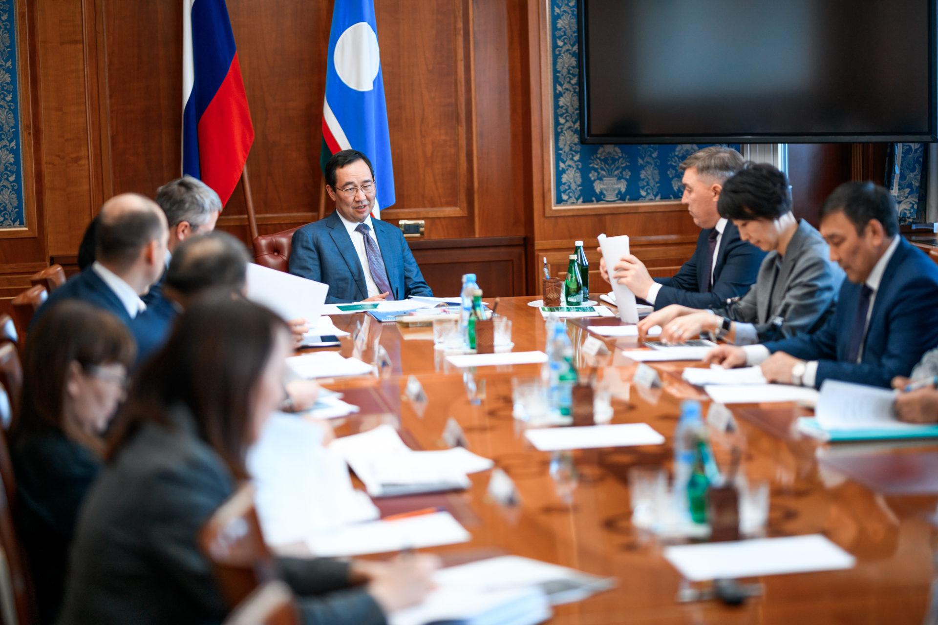 Айсен Николаев провел совещание по вопросам развития сельского хозяйства