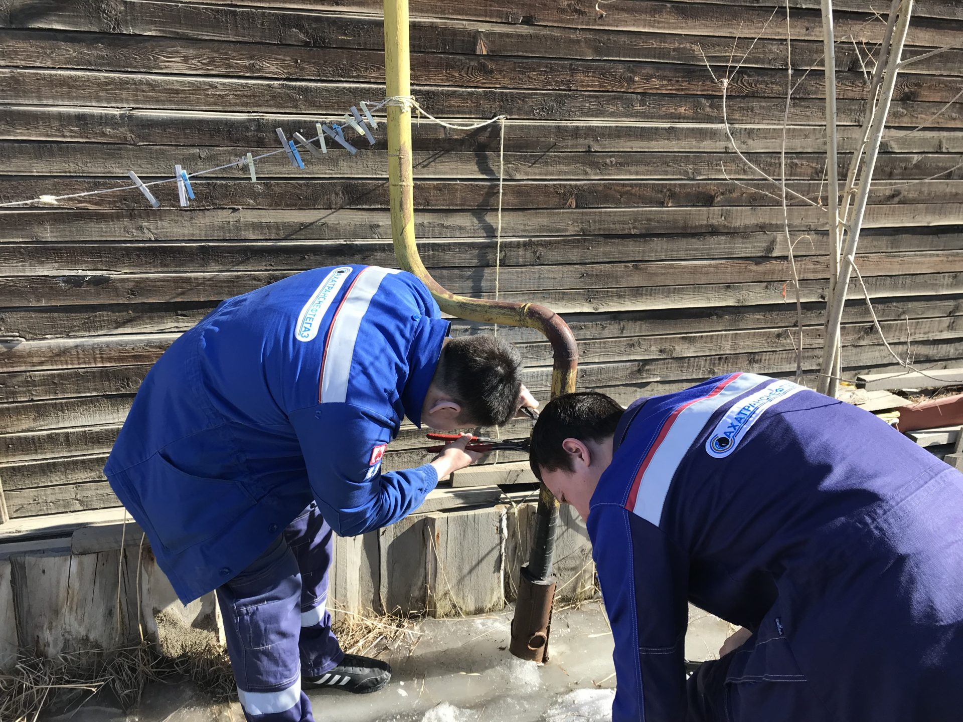 В Якутске были ограничены в подаче газа 4 аварийных дома