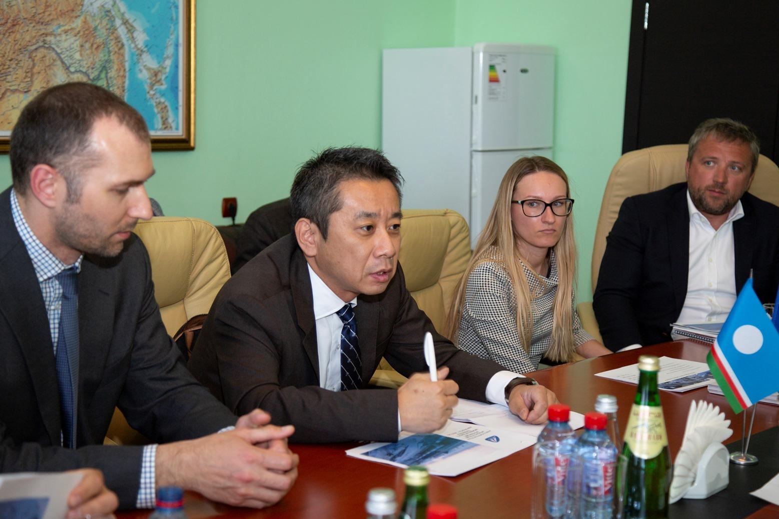 """Аэропорт """"Якутск"""" обсуждает вопрос сотрудничества с японскими компаниями"""