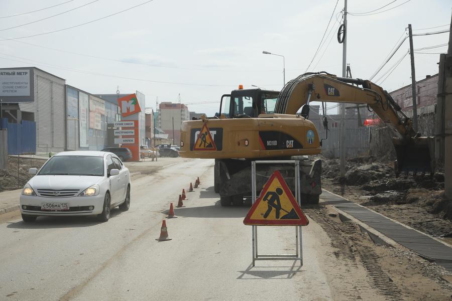 БКАД 2.0: В Якутске приступили к капитальному ремонту улицы Бестужева Марлинского