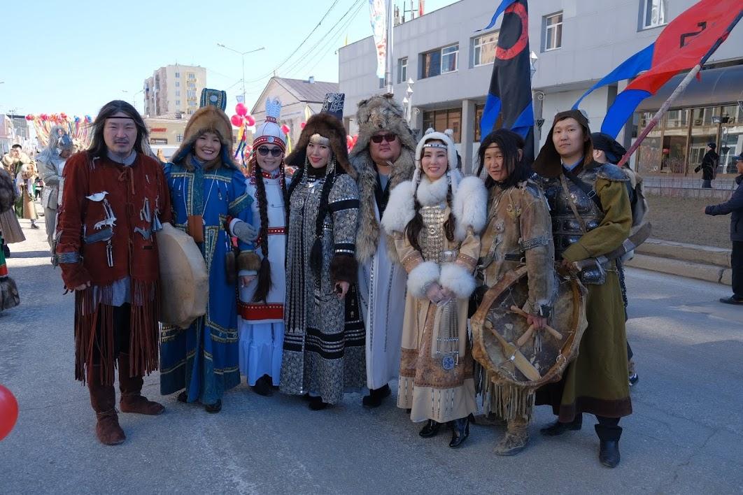 Впервые в Якутии прошла колонна театров
