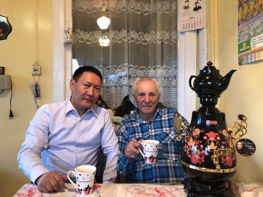 В Якутске поздравляют победителей – участников Великой Отечественной войны