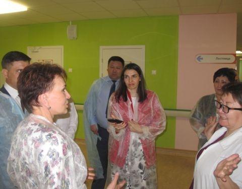 Состоялся визит представителей Совета Федерации в Перинатальный центр