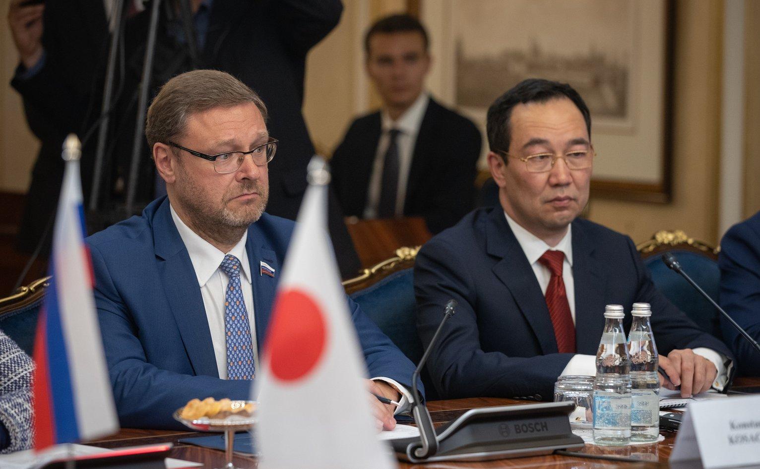Валентина Матвиенко поддержала предложение Айсена Николаева о смягчении визового режима с Японией