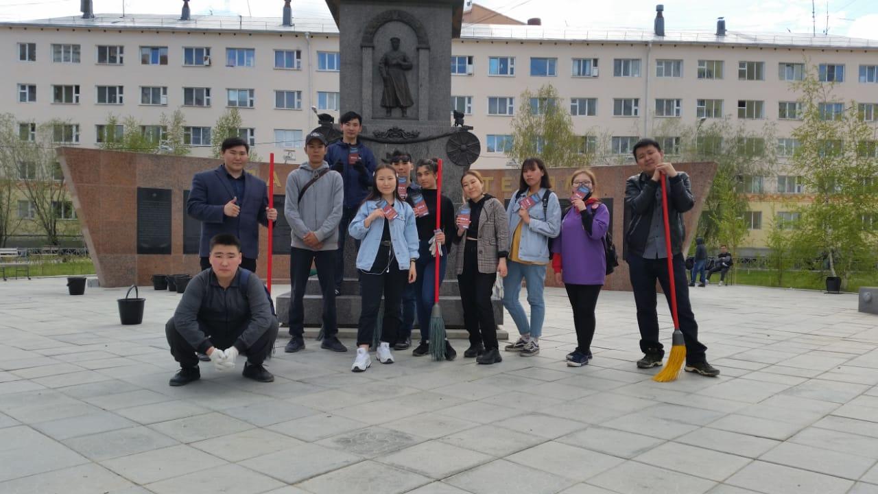 В Якутске провели акцию «Чистая память»