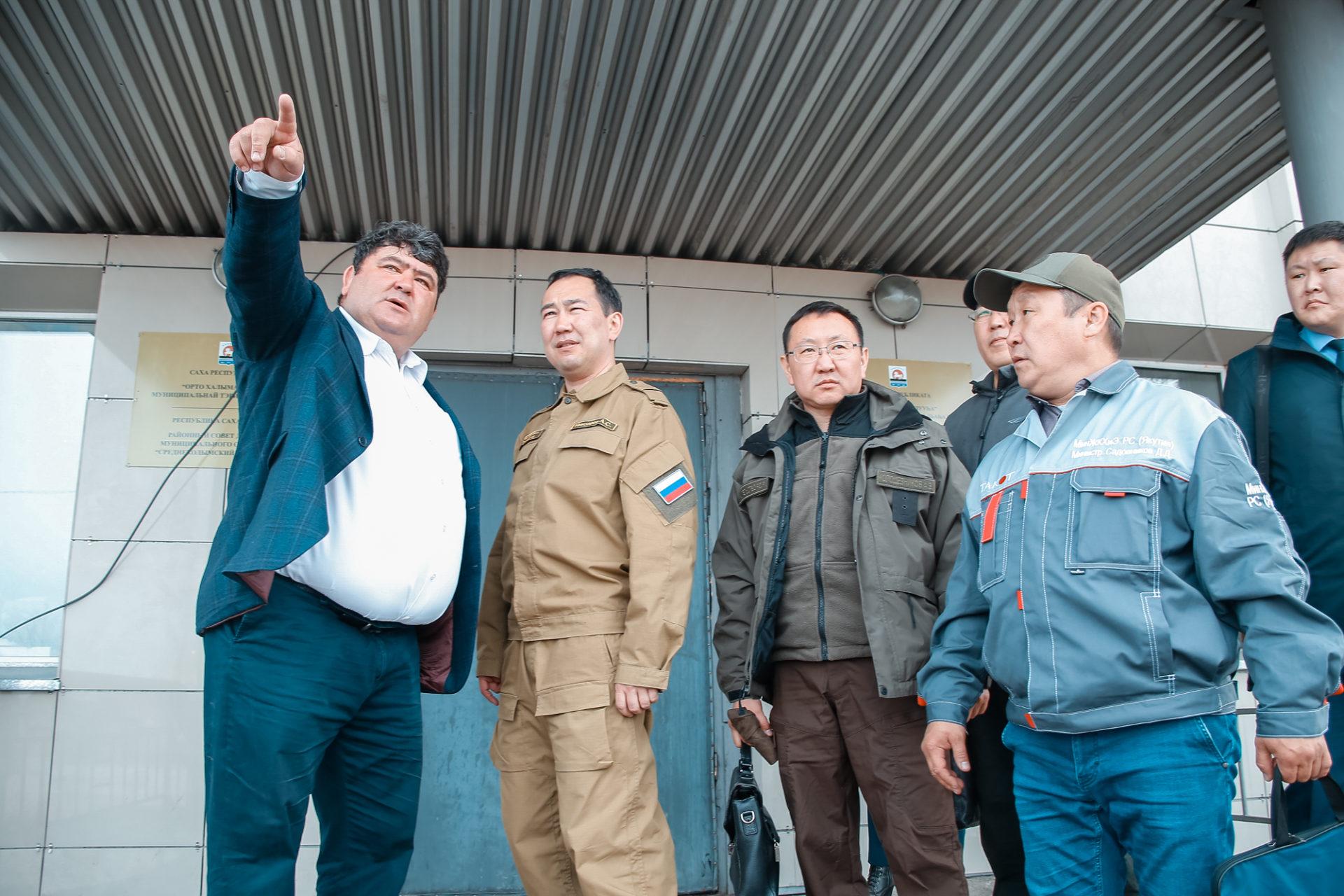 В Среднеколымске восстановят дорожную сеть, пострадавшую от паводка