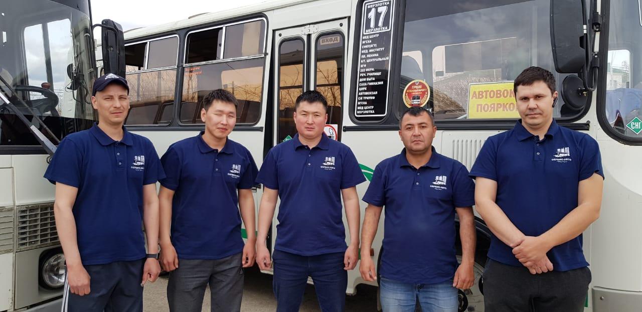 В Якутске городские автобусные маршруты внедрили форму для водителей