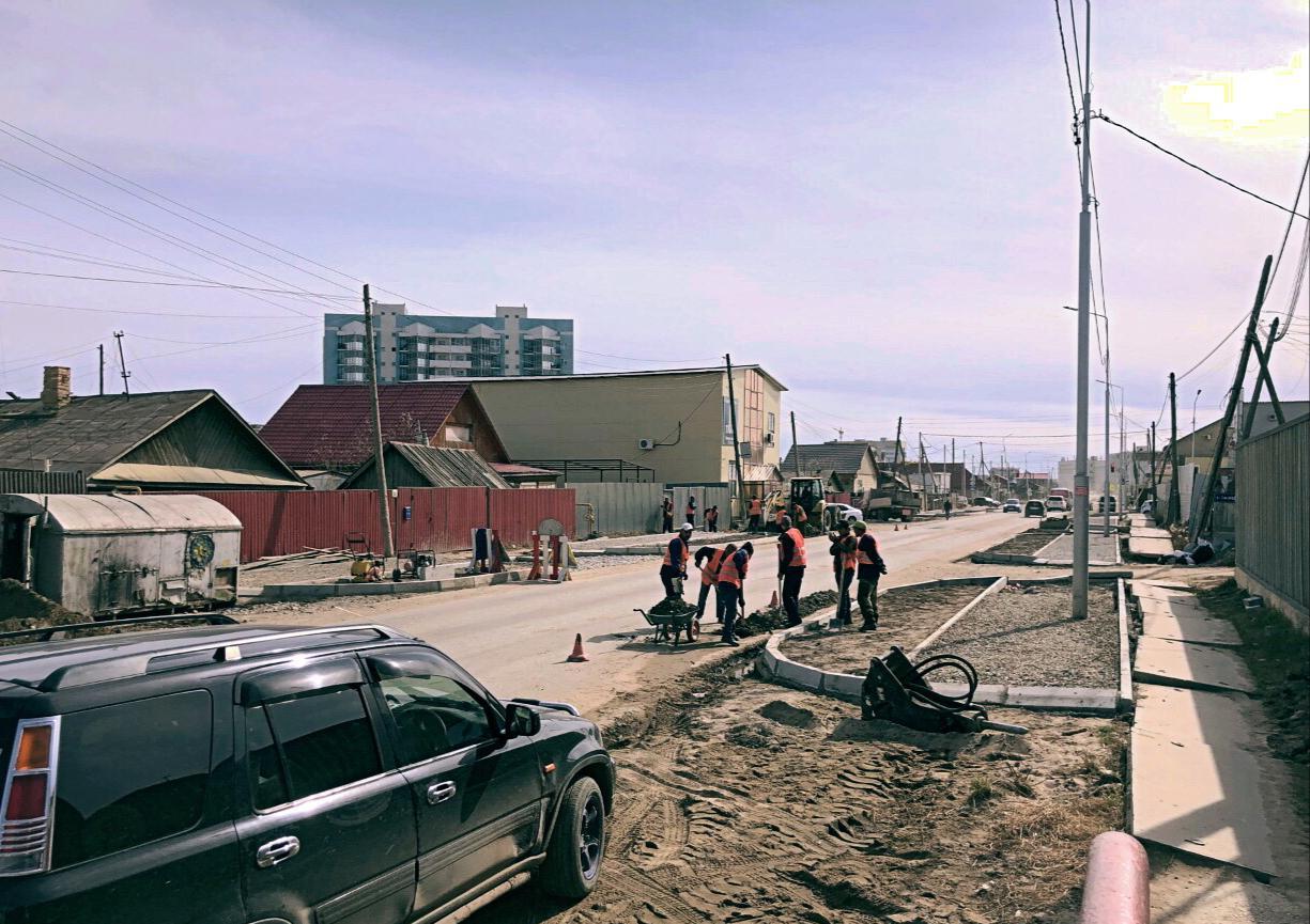 Дорожники продолжают капитальный ремонт улицы Чайковского