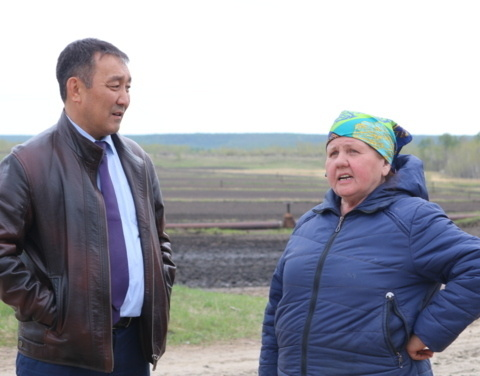 Александр Атласов посетил хозяйство «Котрус»